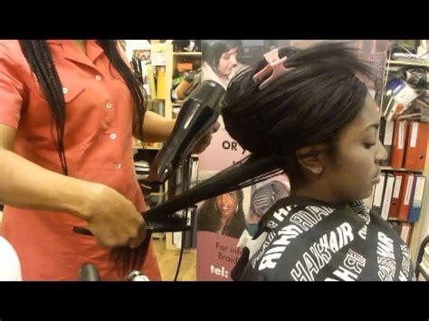 styling tree braids plaits   human hair