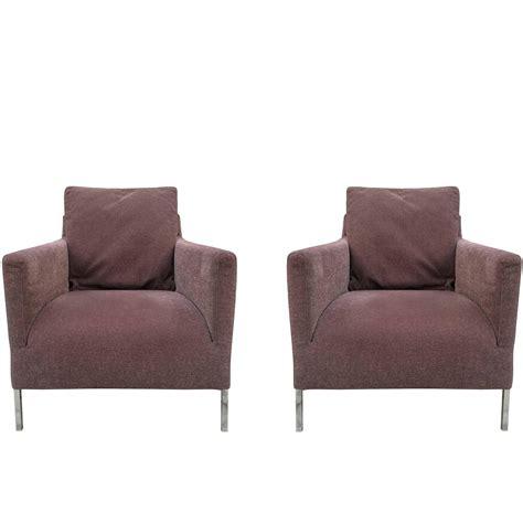 pair of b b italia quot quot chairs by antonio citterio for