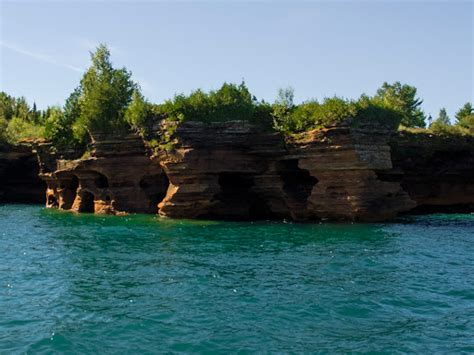 Glass Bottom Boat Bayfield Wi by Wisconsin Explorer Apostle Islands Grand Boat Tour Bayfield