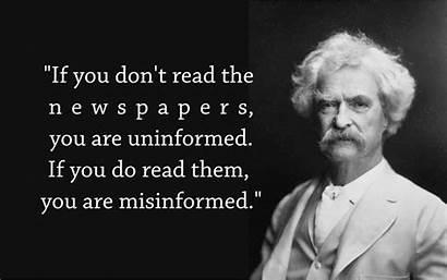 Twain Mark Quotes Quote Politics Clipart Political