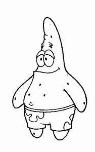 Black and White Patrick Star - Pics about space