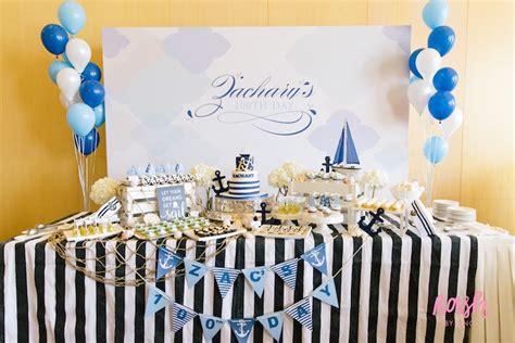 karas party ideas nautical themed  day party kara