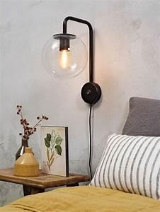 Wandlampe Ohne Kabel : moderne glaskugel wandlampe mit kabel golden oder schwarz ~ A.2002-acura-tl-radio.info Haus und Dekorationen