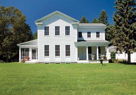 New Greek Revival Farmhouse