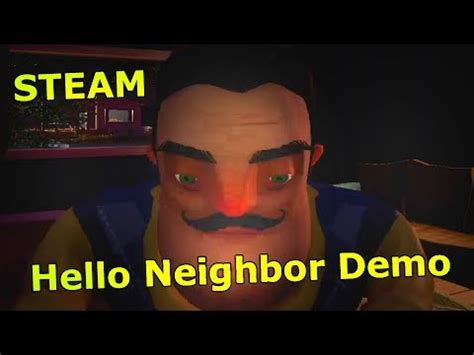 hello neighbor steam demo