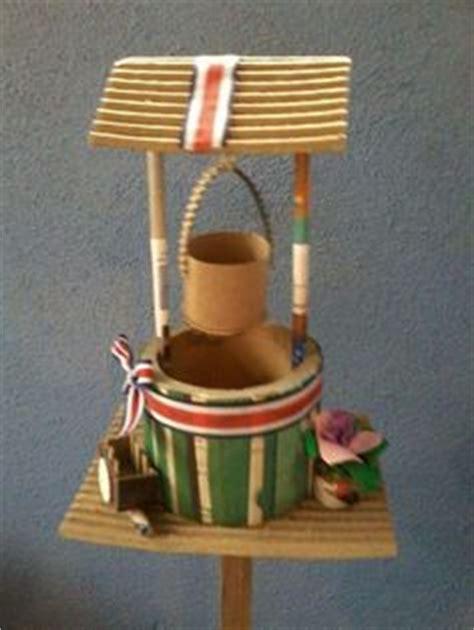 marimba tipica hecha con carto reciclado faroles reciclados hechos por olga ledezma ch
