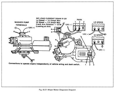 Wiper Motor Wiring Diagram Impremedia