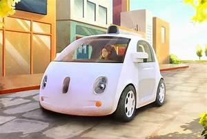 Voiture Autonome Google : voiture autonome de google sans chauffeur et sans p dale futur techno ~ Maxctalentgroup.com Avis de Voitures