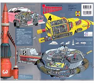 Thunderbirds Technical Manual Mechanical Guide Book
