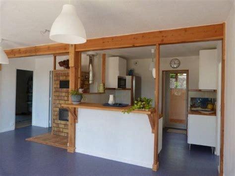 cuisine maison bois interieur maison en bois cuisine
