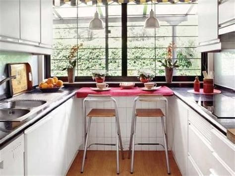 como decorar cocinas alargadas