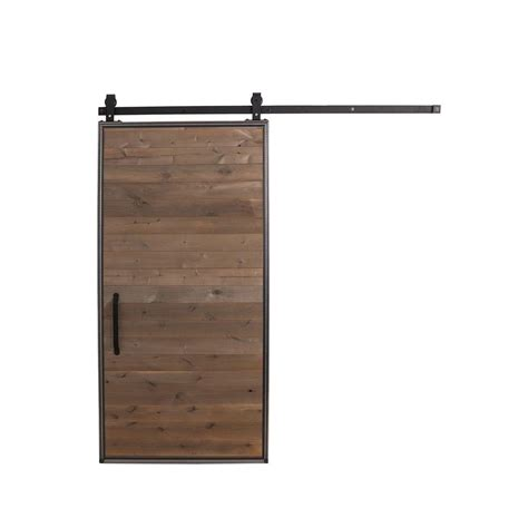 home depot barn door hardware rustica hardware 42 in x 84 in rustica reclaimed home