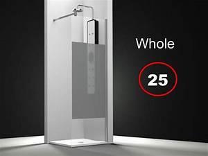 Parois De Douche Sur Mesure : paroi de douche longueur 120 paroi de douche fixe 120 x ~ Dailycaller-alerts.com Idées de Décoration