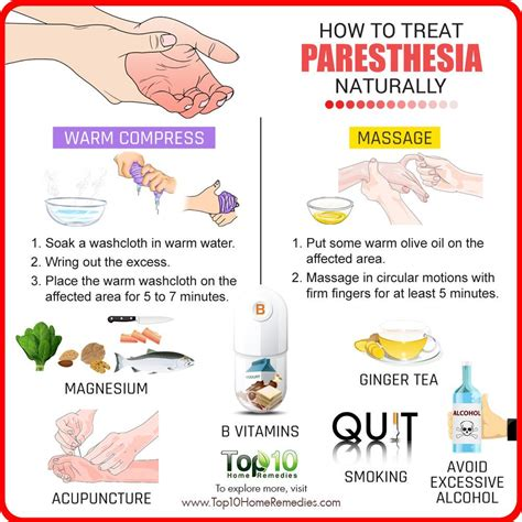 How To Treat Paresthesia Naturally  Top 10 Home Remedies