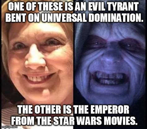 Star Wars Emperor Meme - still replacing quot hail to the chief quot with the quot imperial march quot might be cool imgflip