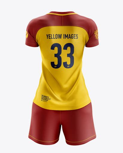 Find & download free graphic resources for jersey mockup. Womens Soccer Kit (Back View) Jersey Mockup PSD File 125.17 MB