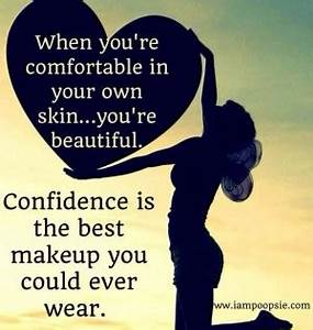 Inner Confidenc... Inner Beauty Confidence Quotes
