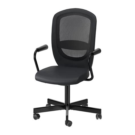 Markus Swivel Chair Ikea Canada by Flintan Nominell Swivel Chair With Armrests Black Ikea