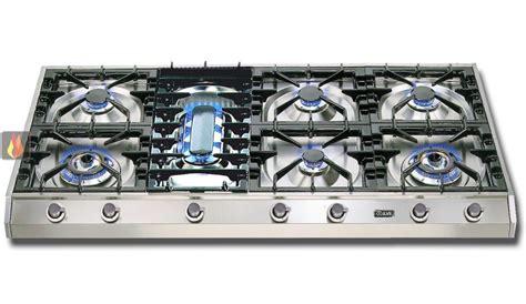 plaque de cuisson gaz 120 cm inox 224 poser 7 foyers dont 1 wok dual 4 5 kw et 1 poissonni 232 re ilve