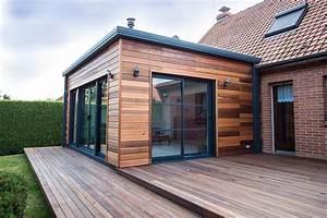 extension en bois concretisez votre projet d39extension d With extension maison en l