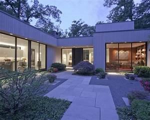 17 meilleures idees a propos de dalles beton sur pinterest With idees deco jardin exterieur 17 renovation dune maison de village