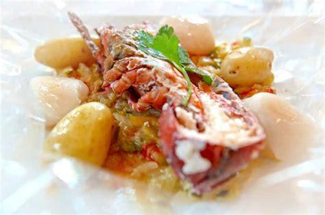 cuisine en papillote homard en papillote la recette facile