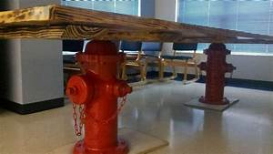 Another Custom Firehouse Kitchen Table Share Yours With