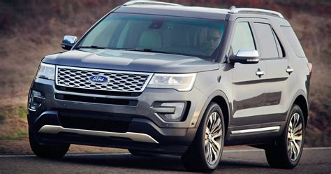 Ford Suv Car by 2016 Ford Explorer New Look New Technology For Updated