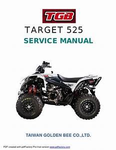 Service Manual Target 525 1