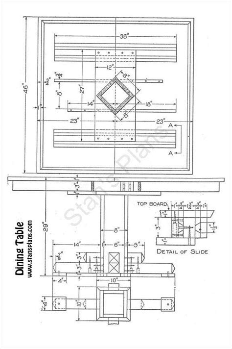 dining table construction plans dining table plans woodworker magazine