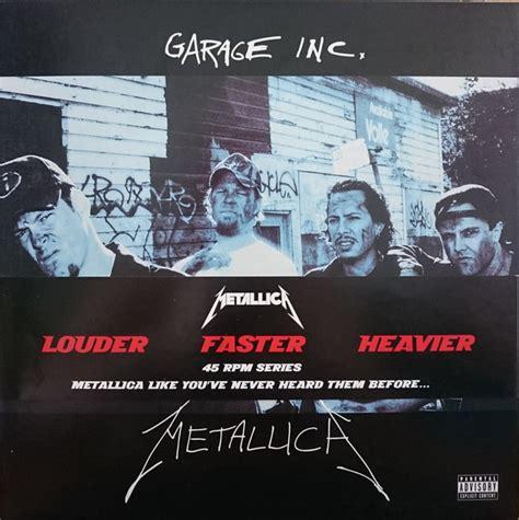 Garage Inc by Metallica Garage Inc Vinyl 12 Quot 45 Rpm Compilation