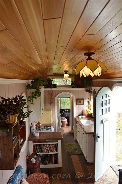 Kitchen Floor Ideas Pinterest - amazing tiny school bus cottage home design garden architecture blog magazine