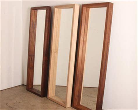 floor mirror wood floor mirror etsy