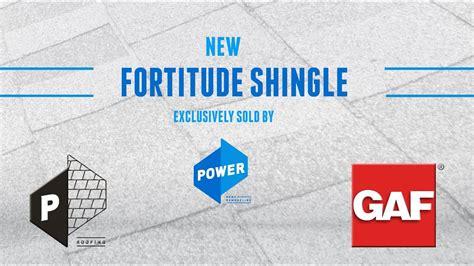 fortitude shingle partnering  gaf youtube