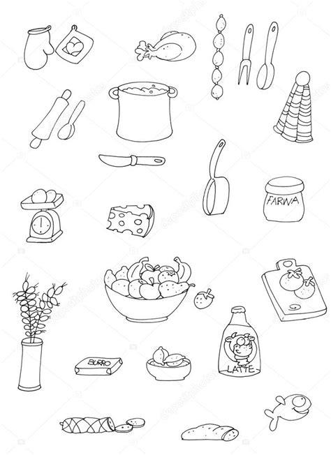 disegni da colorare oggetti beautiful cucina da colorare pictures home interior