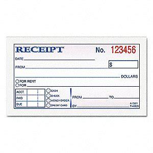 tops moneyrent receipt book   rnjtop