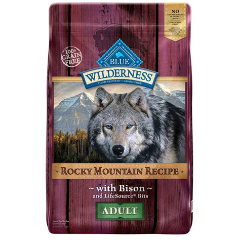wilderness dog food buffalo bison mountain petco adult rocky breed grain recipe rabbit dry cat dogs roll zoom raw center