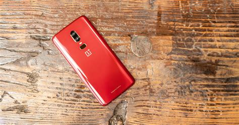 The Oneplus 6 Red Is, Unsurprisingly, Very Red