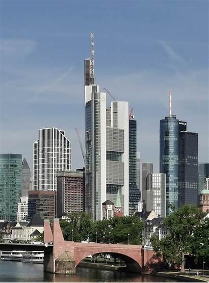 Commerzbank Tower Skyscraper Frankfurt Headquarters Tall Germany