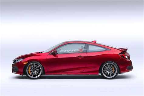 Modified Civic Parts by 2016 Civic Coupe Modified In Different Colors Wheels