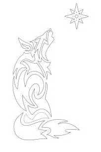 Free Wolf Tattoo Stencil Designs