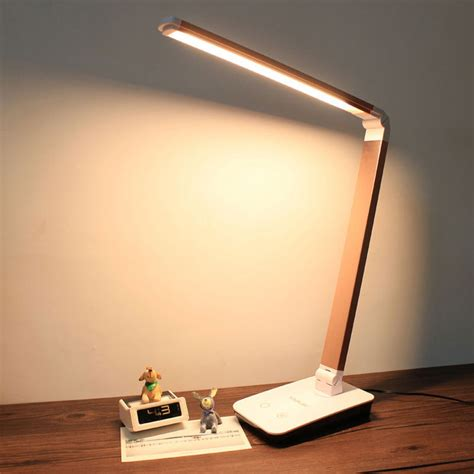 4 Level Touch Dimmer Led Desk Lamps Folding Table Led