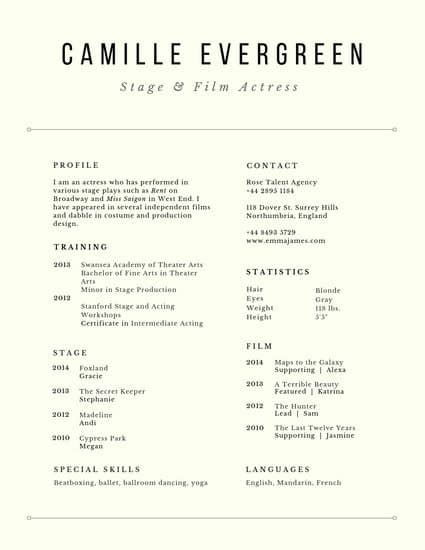 Performance Resume Template by Customize 1 082 Resume Templates Canva