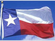 Texas State Flags Nylon & Polyester 2' x 3' to 5' x 8'