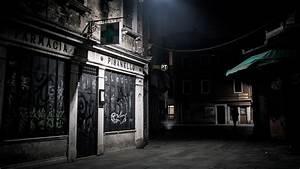 Dark hospital street wallpaper   AllWallpaper.in #10337 ...