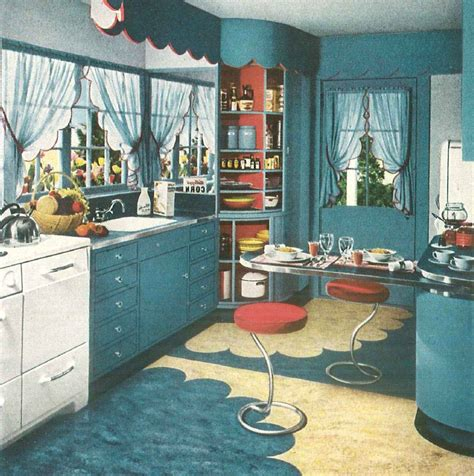 1940s kitchen flooring vintage country the classic 1940 s 1031