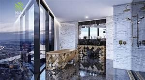 art deco bathtub Interior Design Ideas
