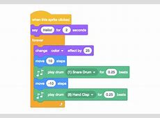 Checking out the downloadable Creative Computing Scratch