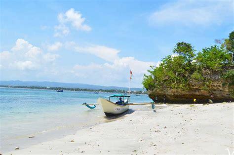 wisata pantai pangandaran ciamis pantai indah  menawan