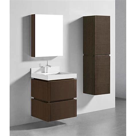 Modern Bathroom Vanities 500 by Madeli Cube 24 Quot Wall Mounted Bathroom Vanity For